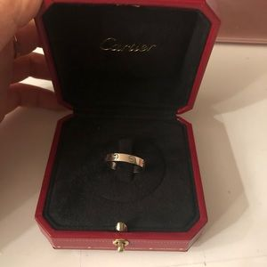 Authentic Cartier Love Wedding Band